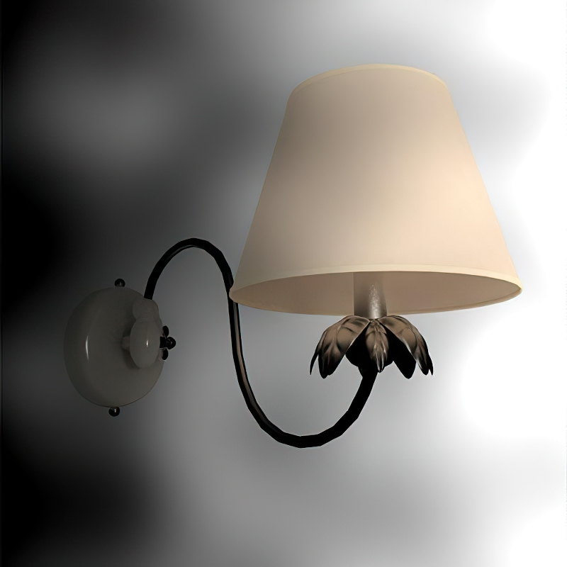 Contemporary Wall Sconce Lighting Fixture 3d rendering