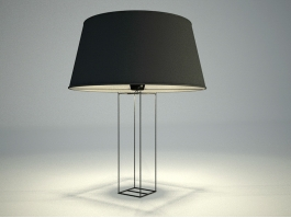 Contemporary Minimalist Table Lamp 3d preview