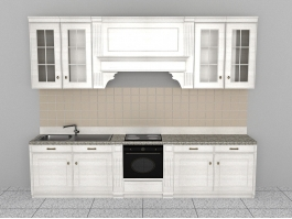 Contemporary Kitchen Design 3d preview