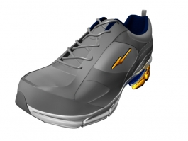 Fashion Sneakers 3d preview