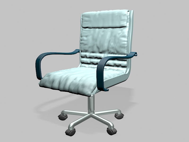 Home Office Computer Chair 3d rendering