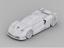 Ferrari Enzo Race Car 3d preview