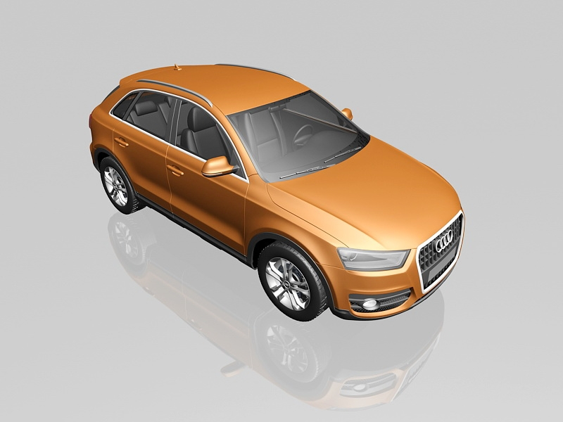 Audi Q3 Quattro 3d rendering