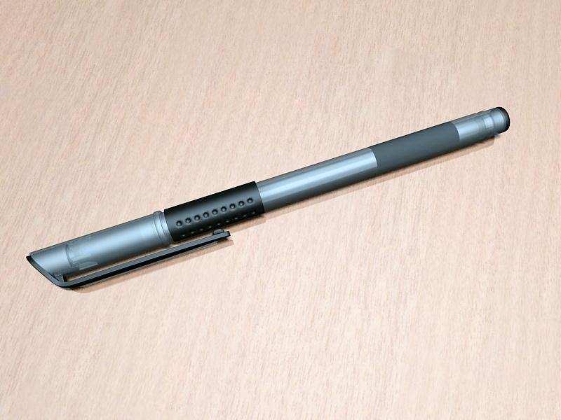 Gel Pens 3d rendering