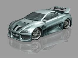 GTA 4 CyborX CD 10.0 XL-GT 3d preview