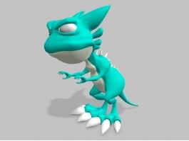 Cartoon Tyrannosaurus Rex 3d preview