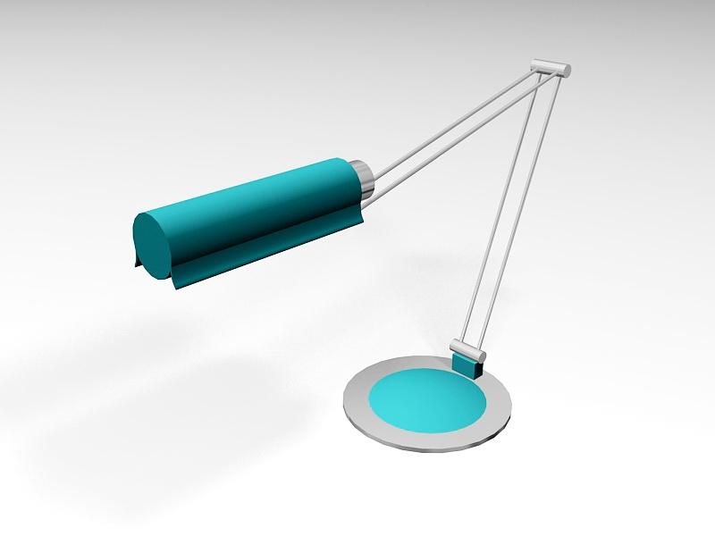 Contemporary Desk Lamp 3d rendering