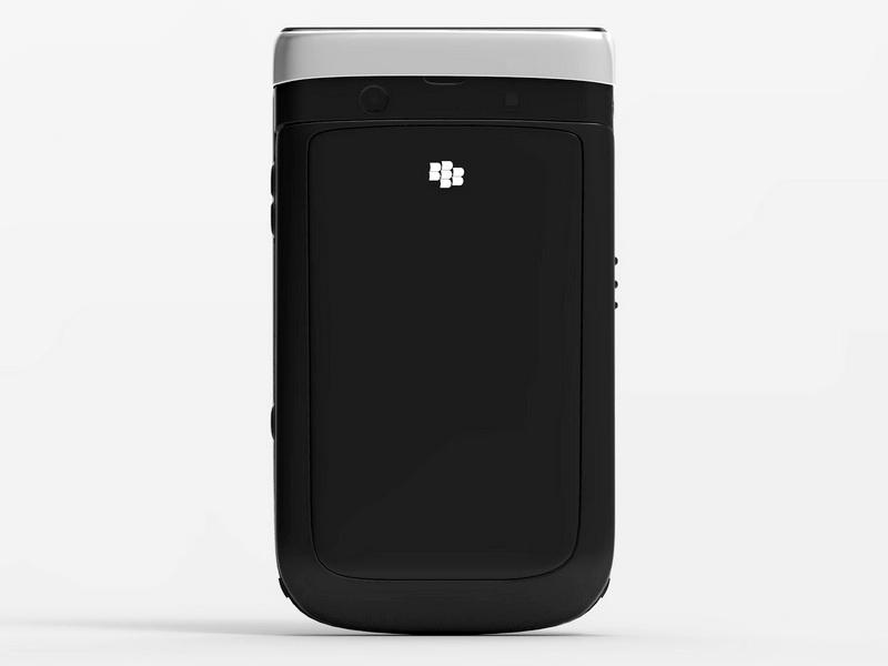 BlackBerry Mobile Phone 3d rendering