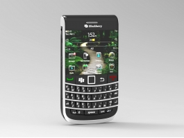 BlackBerry Mobile Phone 3d preview