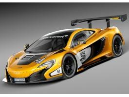 McLaren 650S GT3 Sports Car 3d preview
