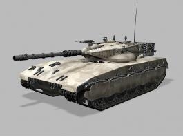 Merkava Main Battle Tank 3d preview