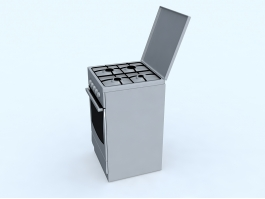 Stove with Oven 3d preview