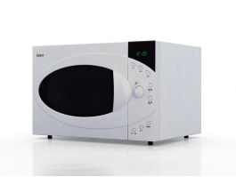 Galanz Microwave 3d preview