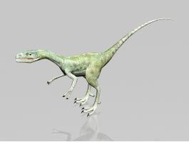 Velociraptor Dinosaur 3d preview