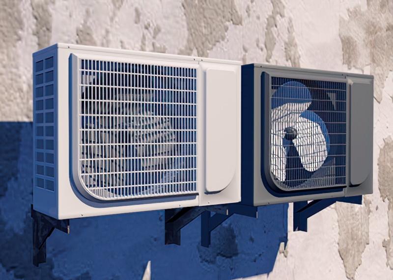 Air Conditioner External Unit 3d rendering