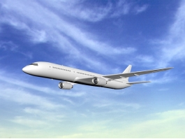 Airbus A350 Airliner 3d preview