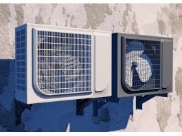 Air Conditioner External Unit 3d preview