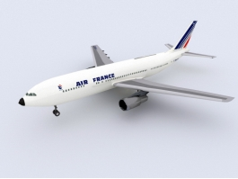 Air France Airbus 3d preview