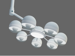 Surgical Light 3d model preview