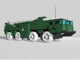 SCUD-B Missile Launcher 3d preview