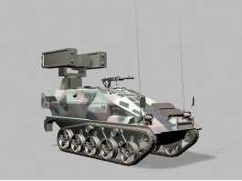 Wiesel Ozelot Light Air Defence System 3d preview