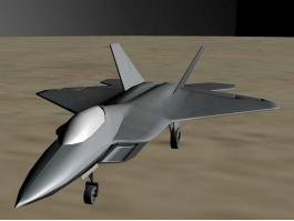 F-22 Raptor Jet 3d preview