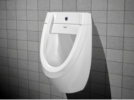 Men Bathroom Urinal 3d preview