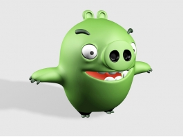 Angry Birds Baby Pig 3d preview