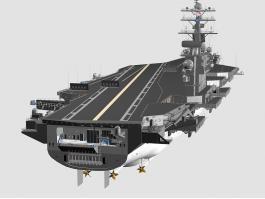 CVN-74 John C. Stennis Carrier 3d preview