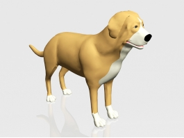 Yellow Dog 3d preview